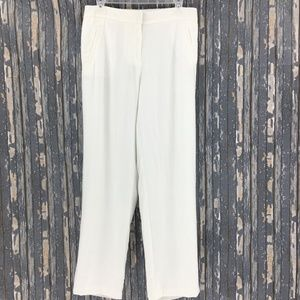 Travelers by Chico's White Lined Pants    K2